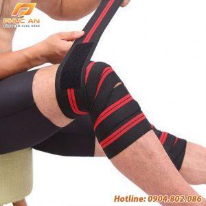 Băng cuốn bảo vệ gối tập gym, chơi thể thao Aolikes AL7164 200cm