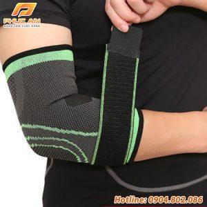 Bảo vệ khuỷu tay có dây đai cuốn Aolikes AL7548
