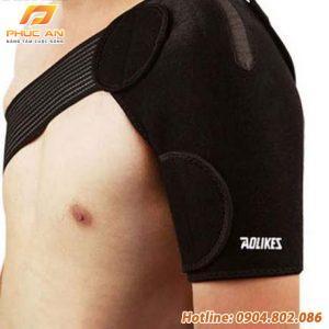 Đai bảo vệ vai đàn hồi chính hãng Aolikes AL1696