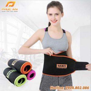 Đai cuốn nóng giảm mỡ bụng, tập gym, yoga Aolikes AL7980