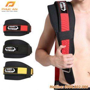 Đai lưng gánh tạ tập gym chuyên nghiệp Aolikes AL7983