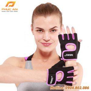 Bộ đôi găng tay nửa ngón tập gym, thể thao Aolikes AL1678