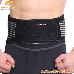 Đai lưng tập gym, bảo vệ cột sống chống đau lưng GF722WS
