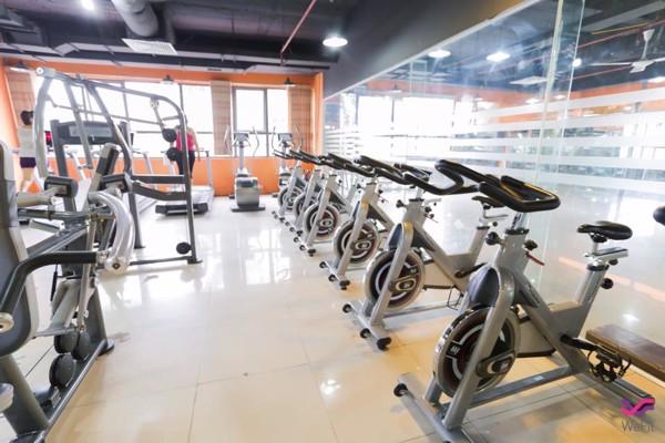 thiết bị tập gym impulse trong phòng tập